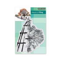 Penny Black - Cling Mounted Rubber Stamps - Snow Blanket