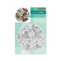 Penny Black - Cling Mounted Rubber Stamps - Winter Garden