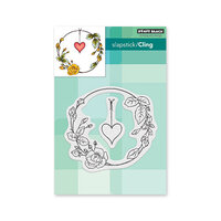Penny Black - Share The Love Collection - Cling Mounted Rubber Stamps - Rose Romance