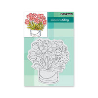Penny Black - Secret Garden Collection - Cling Mounted Rubber Stamps - Blooming Bunch