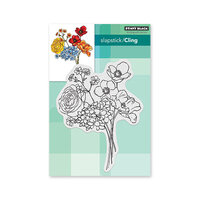 Penny Black - Secret Garden Collection - Cling Mounted Rubber Stamps - Springtime Sigh