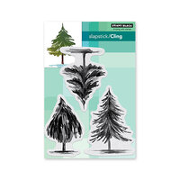 Penny Black - Cling Mounted Rubber Stamps - Christmas - Tannenbaum