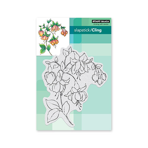 Penny Black - Delight Collection - Cling Mounted Rubber Stamps - Captivating