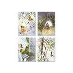 Penny Black - Home For Christmas Collection - 3.25 x 4.5 Premium Cardstock Pack - Home For Christmas