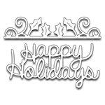 Penny Black - Christmas - Creative Dies - Happy Holly Days