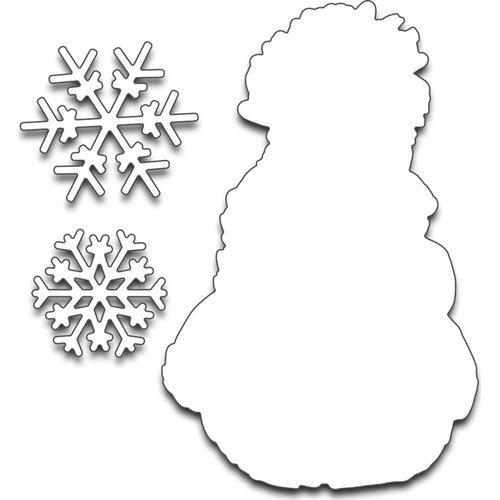 Penny Black - Creative Dies - Frostys Snow