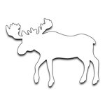 Penny Black - Creative Dies - Moose