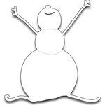 Penny Black - Creative Dies - Snowman Joy