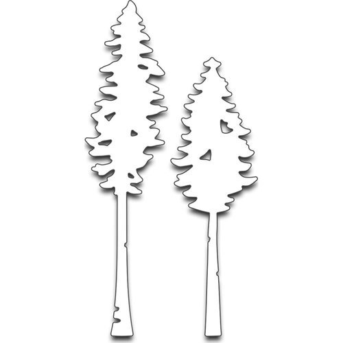 Penny Black - Creative Dies - Tall Trees