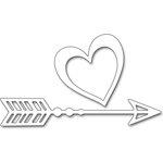 Penny Black Heart Dart Creative Dies