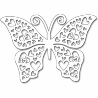 Penny Black - Creative Dies - Hearts Butterfly