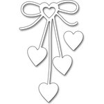 Penny Black - Creative Dies - Heart Bow