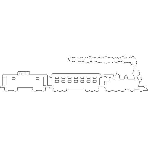 Penny Black - Creative Dies - Steam Train