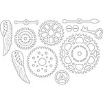 Penny Black - Creative Dies - Cogwheels