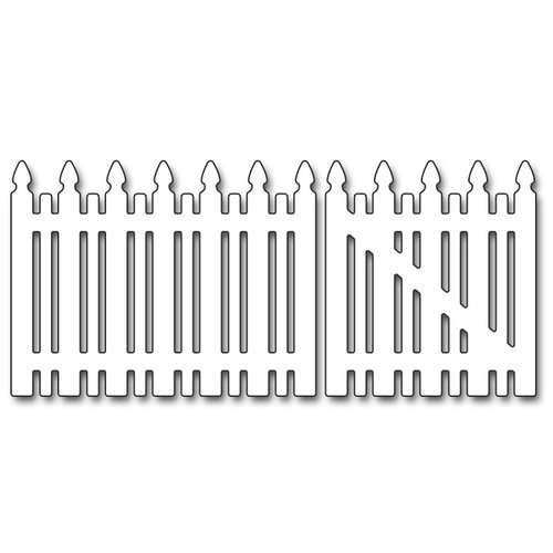 Penny Black - Creative Dies - Picket Fence