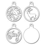 Penny Black - Christmas - Creative Dies - Joyful Ornaments