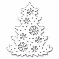 Penny Black - Christmas - Creative Dies - Snowflake Tree