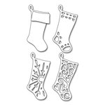 Penny Black - Christmas - Creative Dies - Layered Stockings