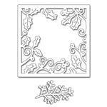 Penny Black - Christmas - Creative Dies - Holly Frame
