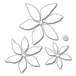Penny Black - Christmas - Creative Dies - Layered Poinsettia