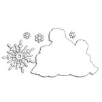 Penny Black - Christmas - Creative Dies - Snow Family Cut Out