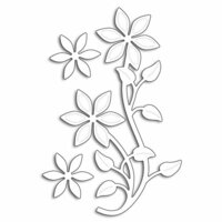 Penny Black - Creative Dies - Flower Flourish