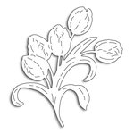 Penny Black - Creative Dies - Tulips