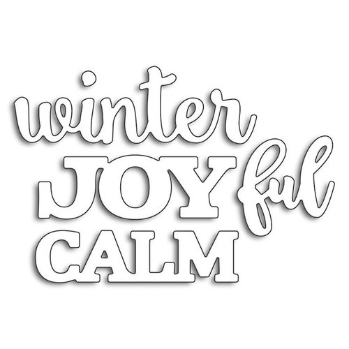 Penny Black - Creative Dies - Joyful Winter