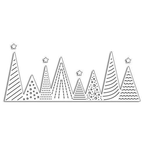 Penny Black - Christmas - Creative Dies - Xmas Tree Border