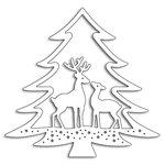 Penny Black - Christmas - Creative Dies - Deer in tree
