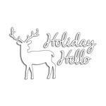 Penny Black - Christmas - Creative Dies - Holiday Hello