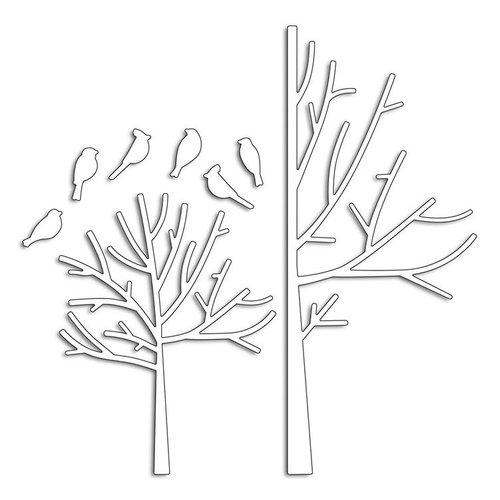 Penny Black - Creative Dies - Winter Trees