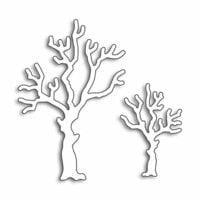 Penny Black - Creative Dies - Halloween Trees