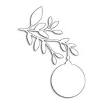 Penny Black - Christmas - Creative Dies - Ornament Branch