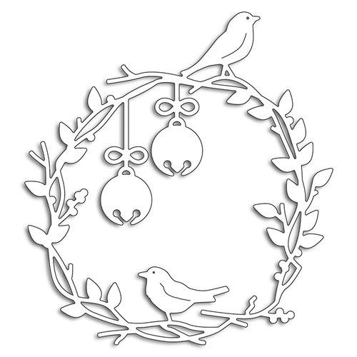 Penny Black - Christmas - Creative Dies - Birds on a Wreath