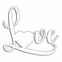 Penny Black - Happy Heart Day - Creative Dies - Big Love