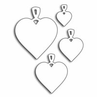 Penny Black - Happy Heart Day - Creative Dies - Heart Charms