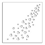 Penny Black - Happy Heart Day - Creative Dies - Hearts Galore