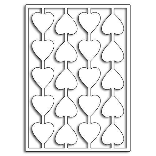 Penny Black - Happy Heart Day - Creative Dies - String of Hearts