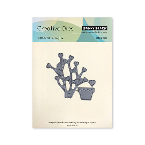 Penny Black - Timeless Collection - Creative Dies - Plant Our Love