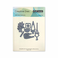Penny Black - Timeless Collection - Creative Dies - Hanging Planters