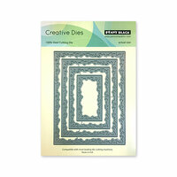 Penny Black - Timeless Collection - Creative Dies - Swirly Stitches