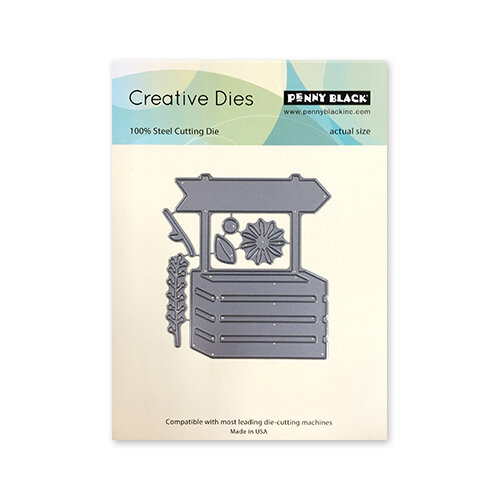 Penny Black - Timeless Collection - Creative Dies - Garden Box