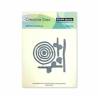 Penny Black - Timeless Collection - Creative Dies - Abstract Flowers
