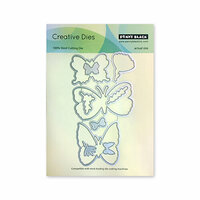 Penny Black - Timeless Collection - Creative Dies - Butterfly Garden Cut Out