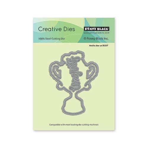 Penny Black - Full Bloom - Creative Dies - Number 1 Cut Out