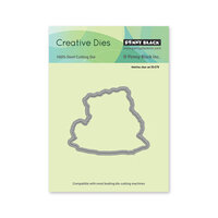 Penny Black - Creative Dies - Bear Cuddle Cut Out