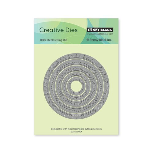 Penny Black - Creative Dies - Stitched Circles