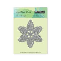 Penny Black - Christmas - Creative Dies - Snowflake Tag