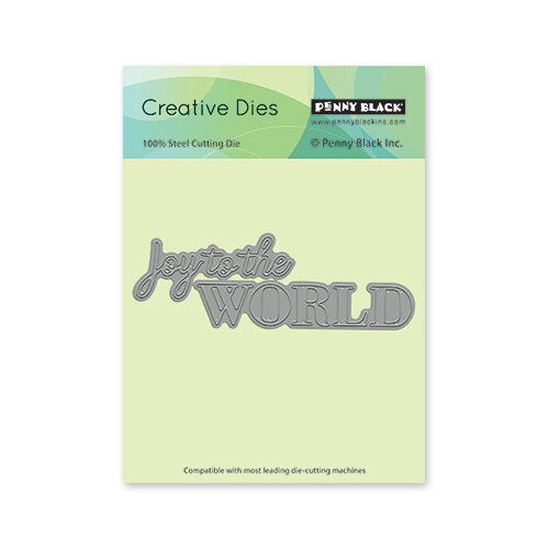 Penny Black - Christmas - Creative Dies - To The World
